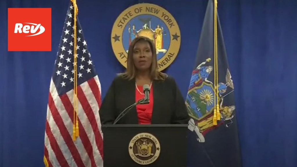 NY Gov. Andrew Cuomo Sexually Harassed Multiple Women, Report Finds: Letitia James Press Conference Transcript