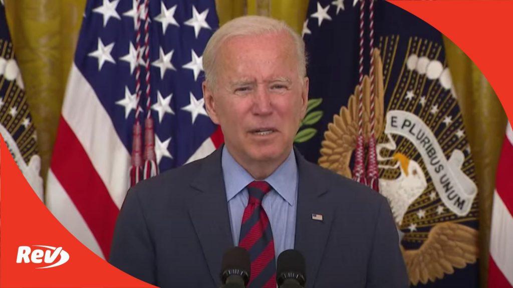 Joe Biden Speech Transcript: COVID-19 Vaccines, Says Cuomo Should Resign Following Harassment Report