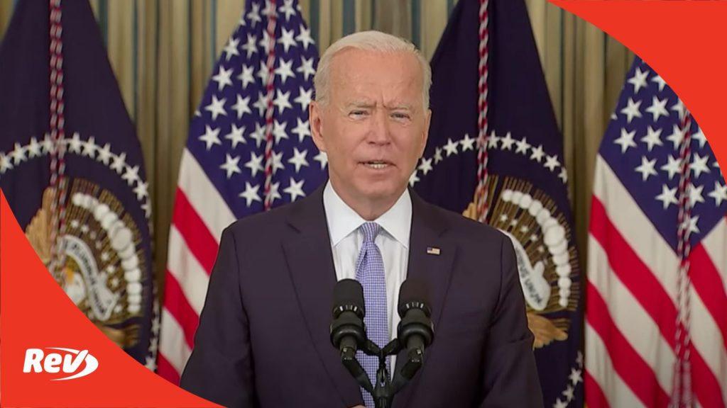 Joe Biden Speech Transcript: Condemns Border Patrol Treatment of Haitian Migrants