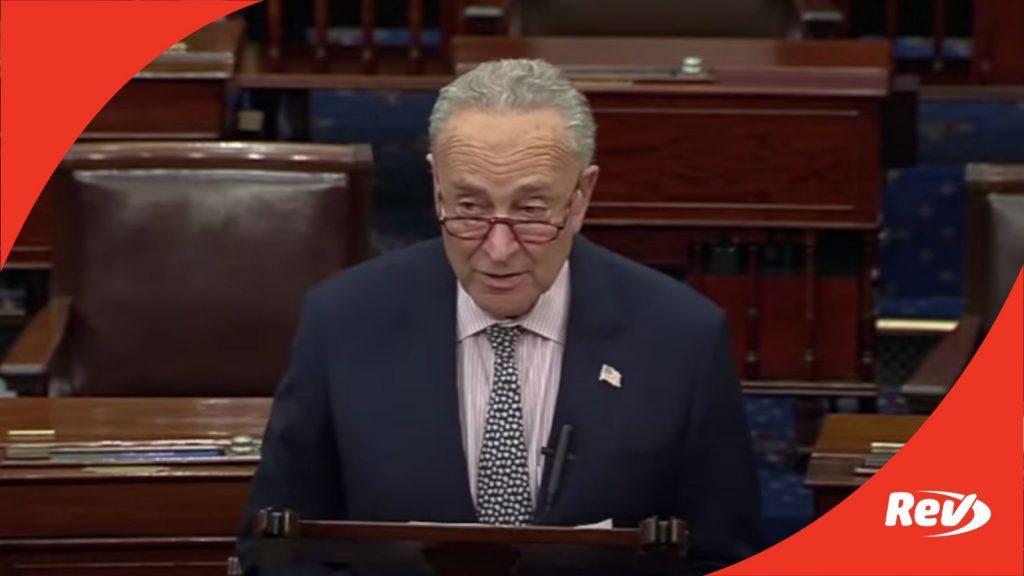 Chuck Schumer Speech After Senate Republicans Block Voting Bill Transcript