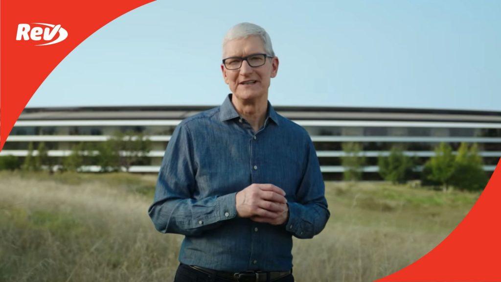 Apple Event October 2021 Transcript: New MacBook Pro