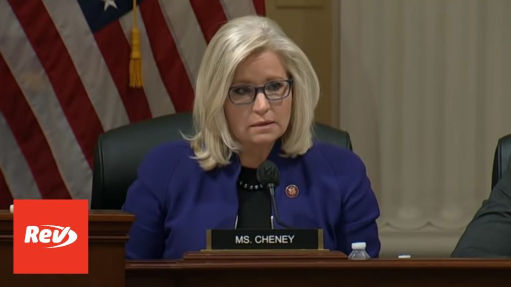 """Liz Cheney Transcript: Bannon's Actions Suggest Trump was """"Personally Involved"""" in Capitol Riot"""