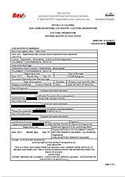 Sample Spanish Marriage Certificate  Translation